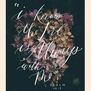 I know that I know God is w me. God loves you.